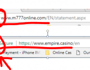 How secure is the casino you're playing at currently? Or rather…are they actually licensed operators as per their claim?