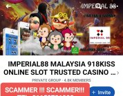 PLS BECAREFUL OF THIS ONLINE CASINO SCAMMER!!! N
