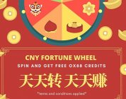 CNY SPECIAL! GET FREE RM500 OX88 FREE CREDIT UP TO TWICE A DAY!