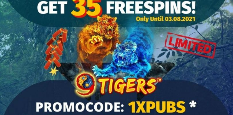 Get 35 FreeSpins until the 3rd Of August