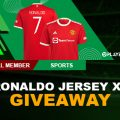 PLAY88 RONALDO LIMITED EDITION JERSEY GIVEAWAY